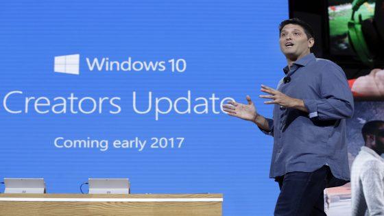 Das Creators Update für Windows 10 wird für April 2017 erwartet.