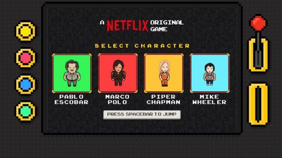 Endless Runner mit Netflix-Serienstars