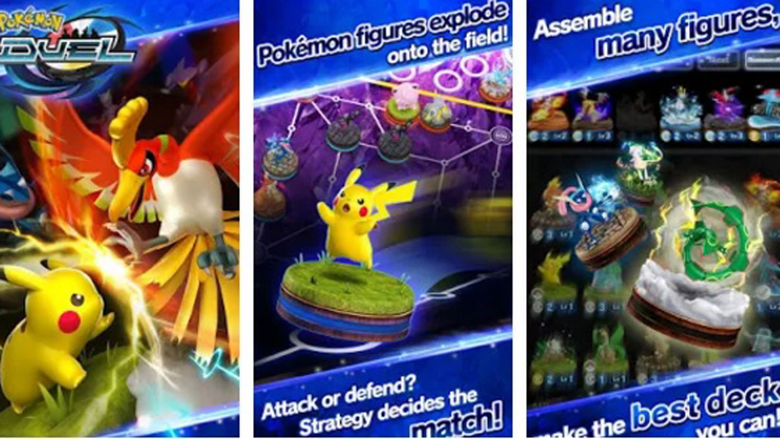 Pokémon Duel App Screenshot