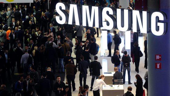 Samsung-Stand auf dem MWC 2016