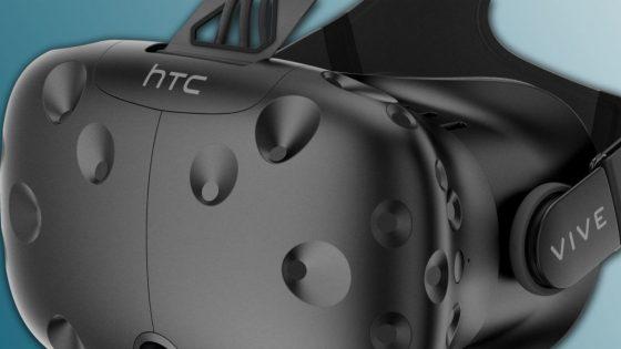 Die VR-Brille HTC Vive