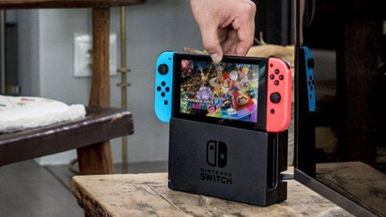 Auf der Nintedo Switch läuft Mario Kart 8 Deluxe