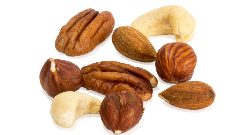 Sammlung verschiedener Nüsse