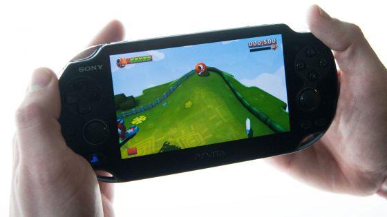 Tragbare Spielkonsole PlayStation Vita von Sony