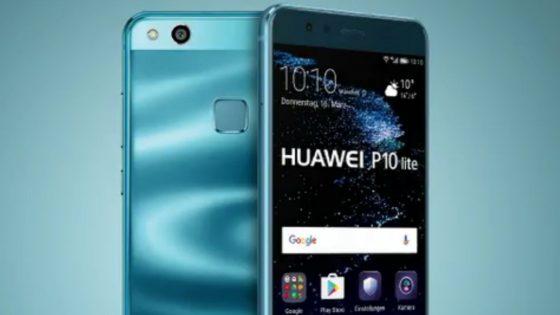 Vorder- und Rückseite Huawei P10 Lite