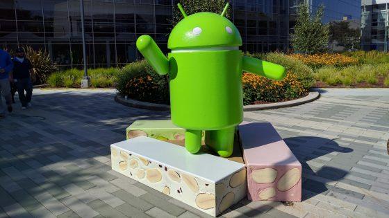 Android Nougat Figur