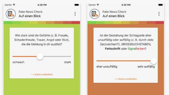 Fake News erkennen: Diese App hilft dabei