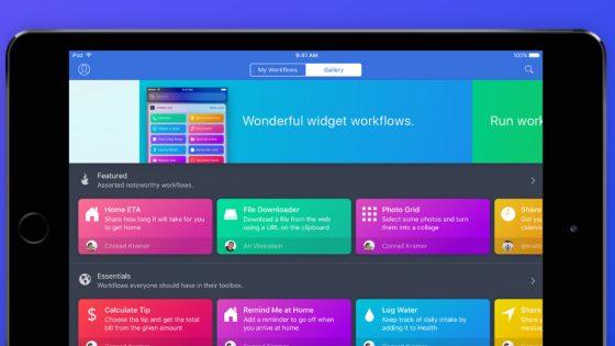 Screenshot Workflow-App