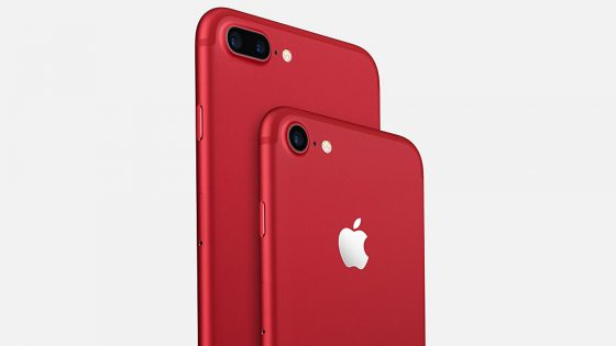 iPhone 7 in Rot