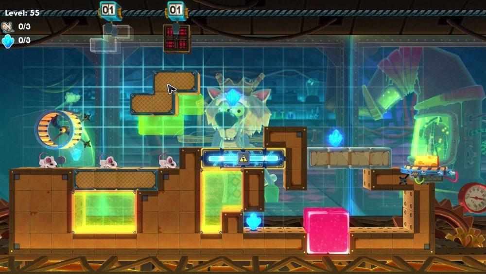 MouseCraft – cleveres Puzzle-Computerspiel