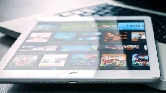 Netflix auf Tablet