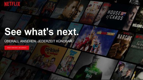 Netflix unterwegs gratis