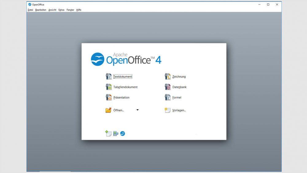 Office Programme OpenOffice