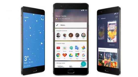 Bilder des OnePlus 3T