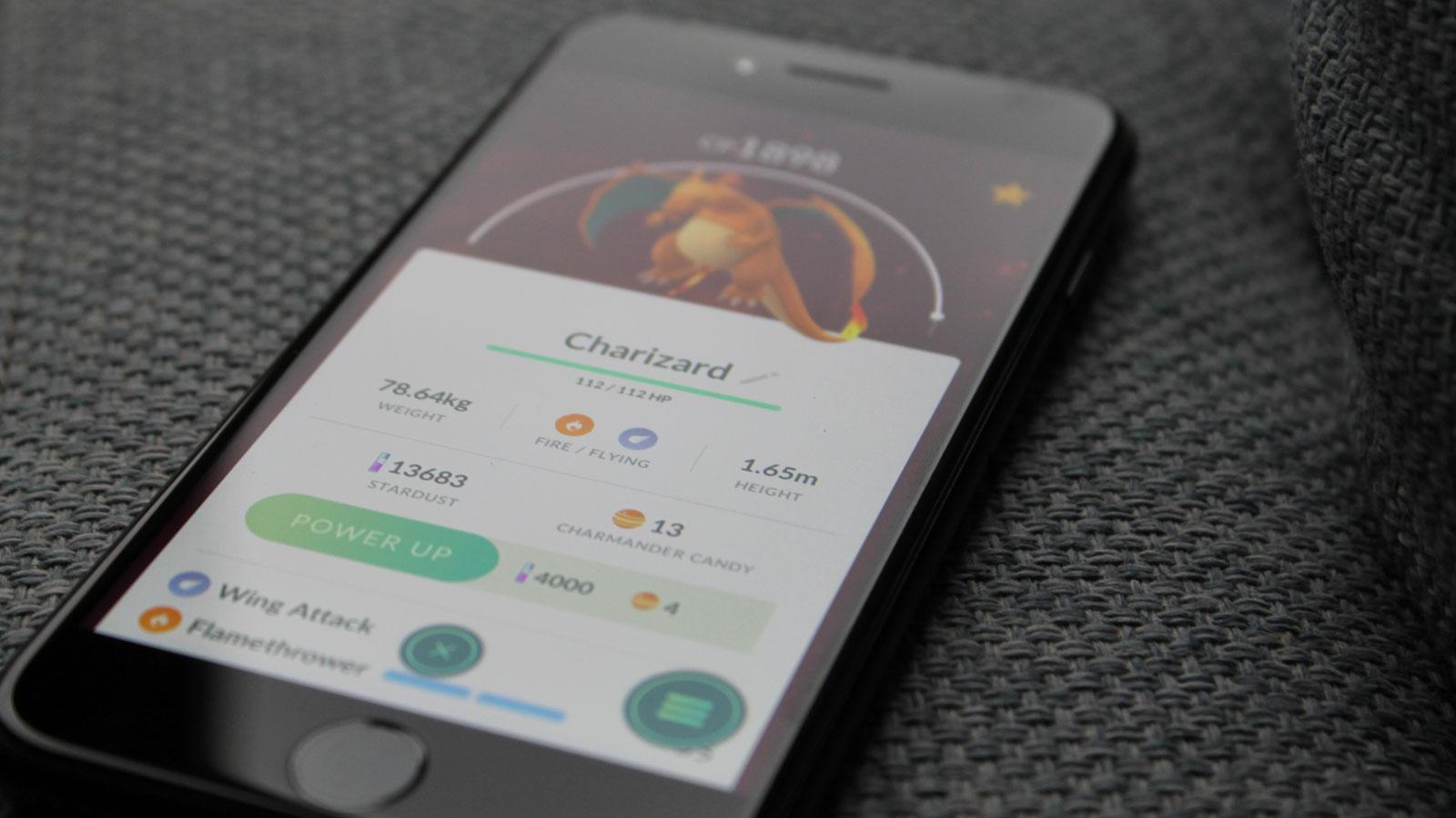 Pokémon GO auf dem Smartphone