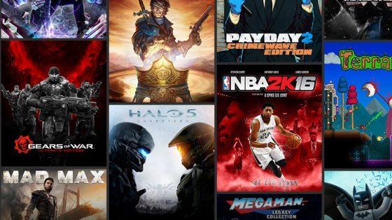 Verfügbare Spieletitel mit Xbox Game Pass