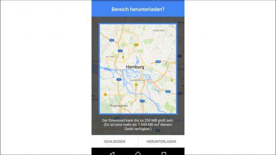 Google Maps für Android herunterladen