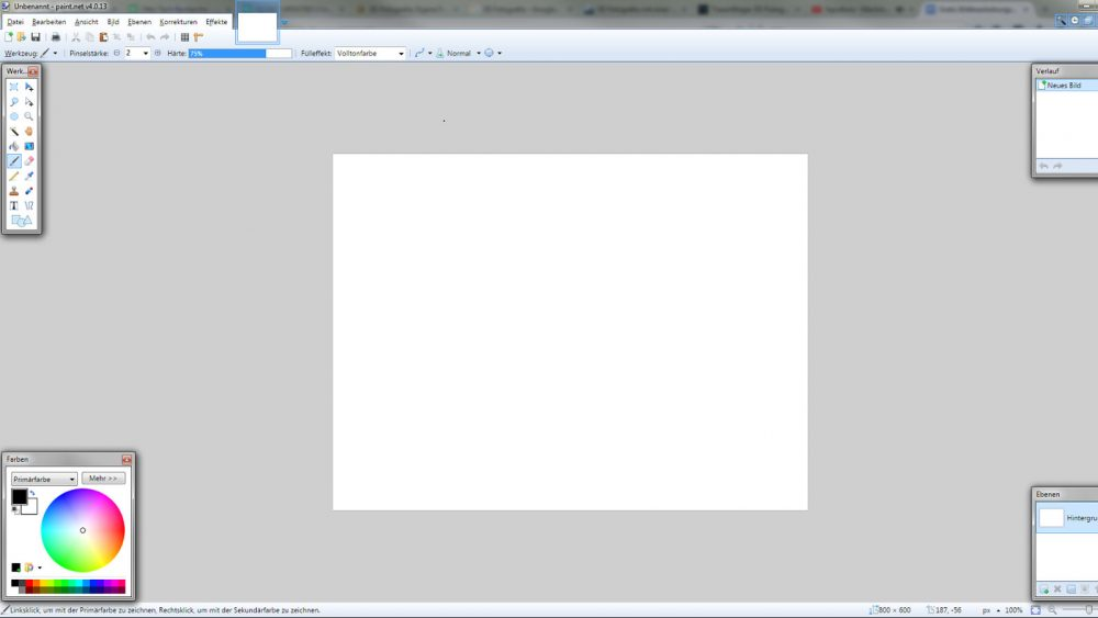 Gratis Bildbearbeitungs-Programme für Windows 10 Paint