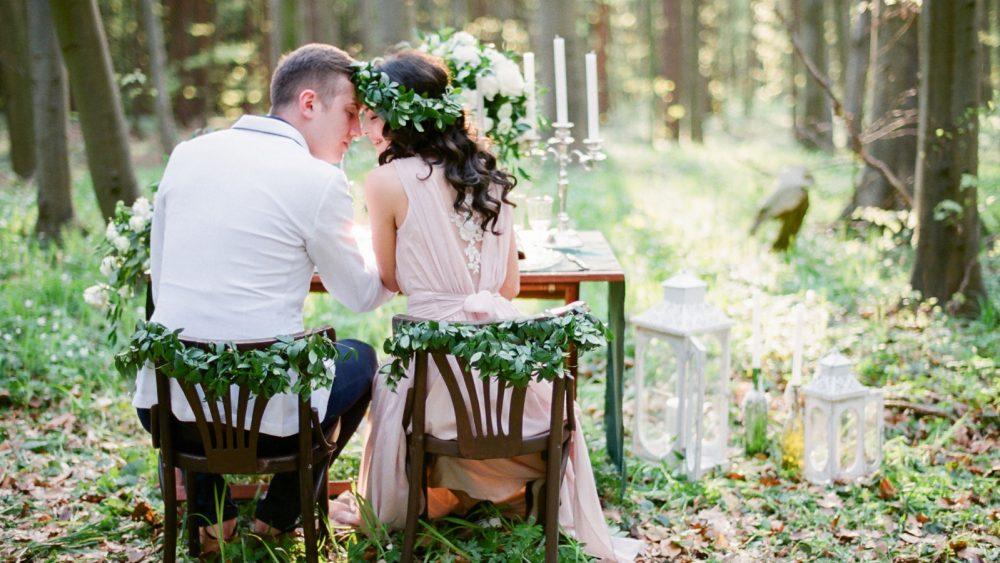 Hochzeiten fotografieren Natur