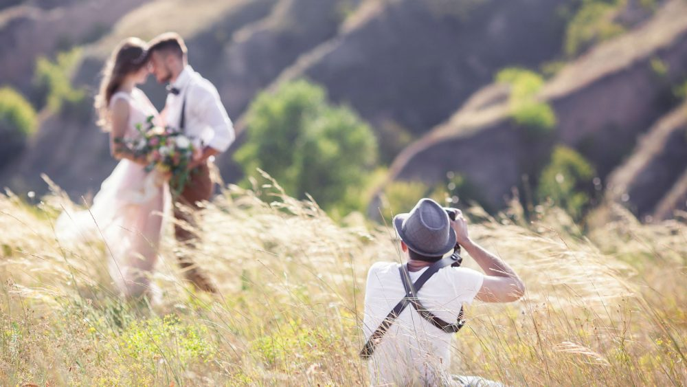 Hochzeiten fotografieren Perspektive
