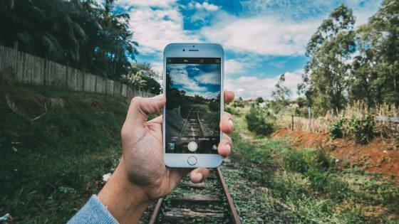 iPhone fotografiert