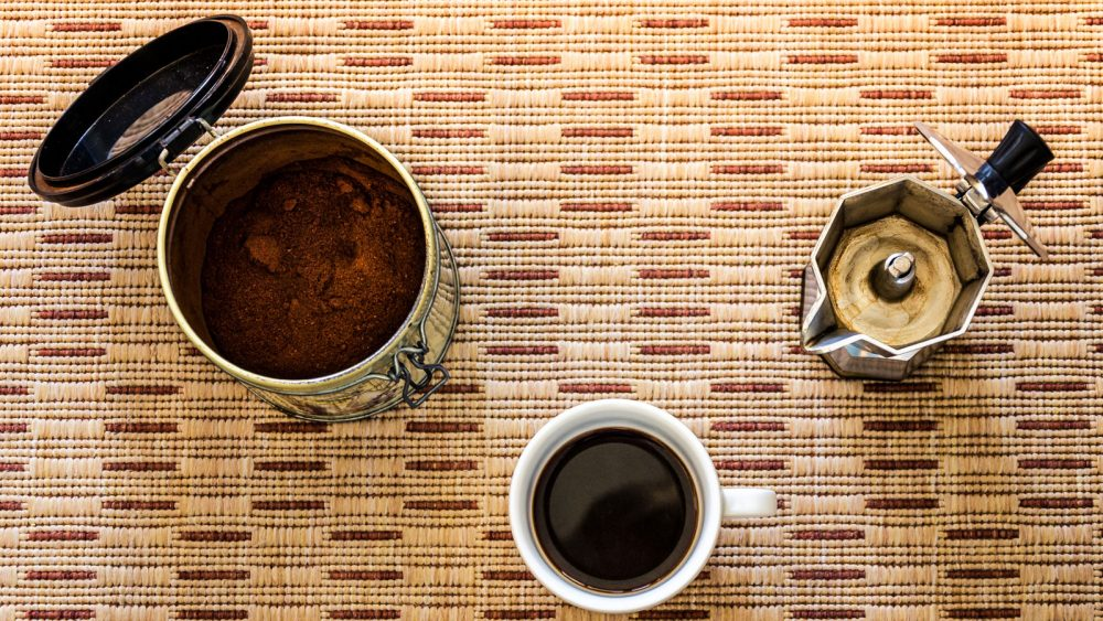 Kaffeepulver richtig aufbewahren Kaffeemenge