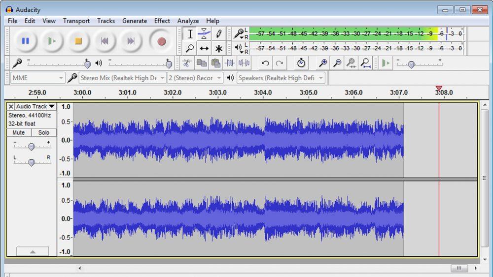 Musikkassetten digitalisieren Audacity