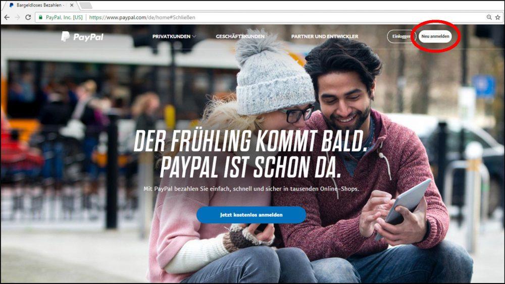 PayPal Konto einrichten & bezahlen Anmeldung