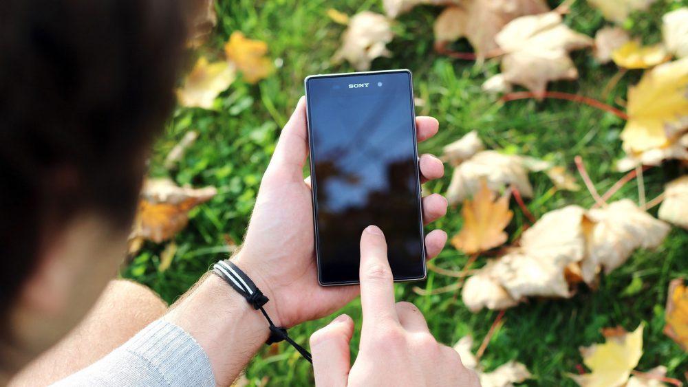 Smartphone-Akku Android Display