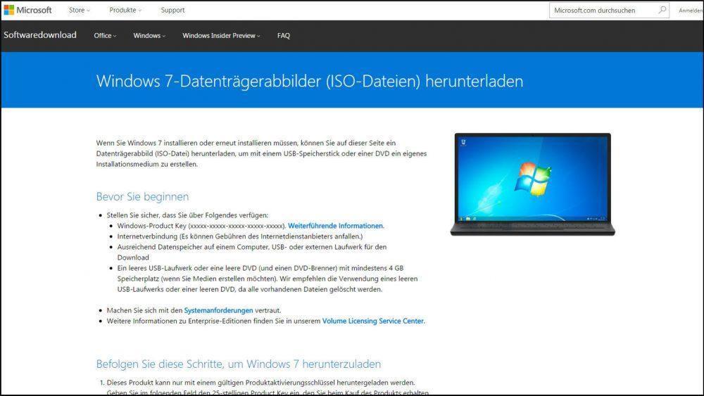 Windows 10: So wechseln Sie zurück zu Windows 7 oder 8.1 Datenträgerabbilder