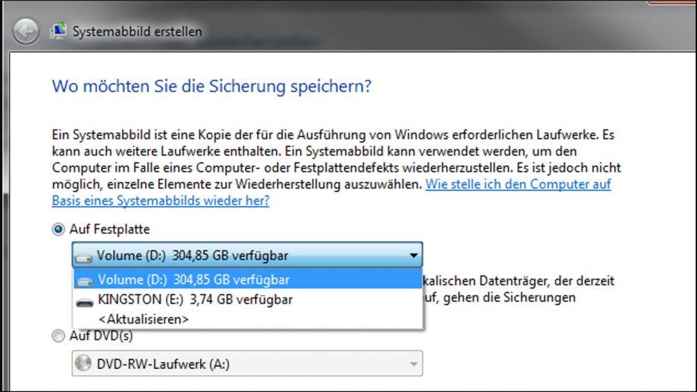 Windows 10: So wechseln Sie zurück zu Windows 7 oder 8.1 Sicherheitskopie