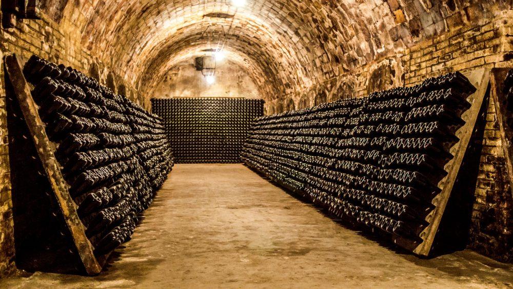 Wein lagern Weinkeller
