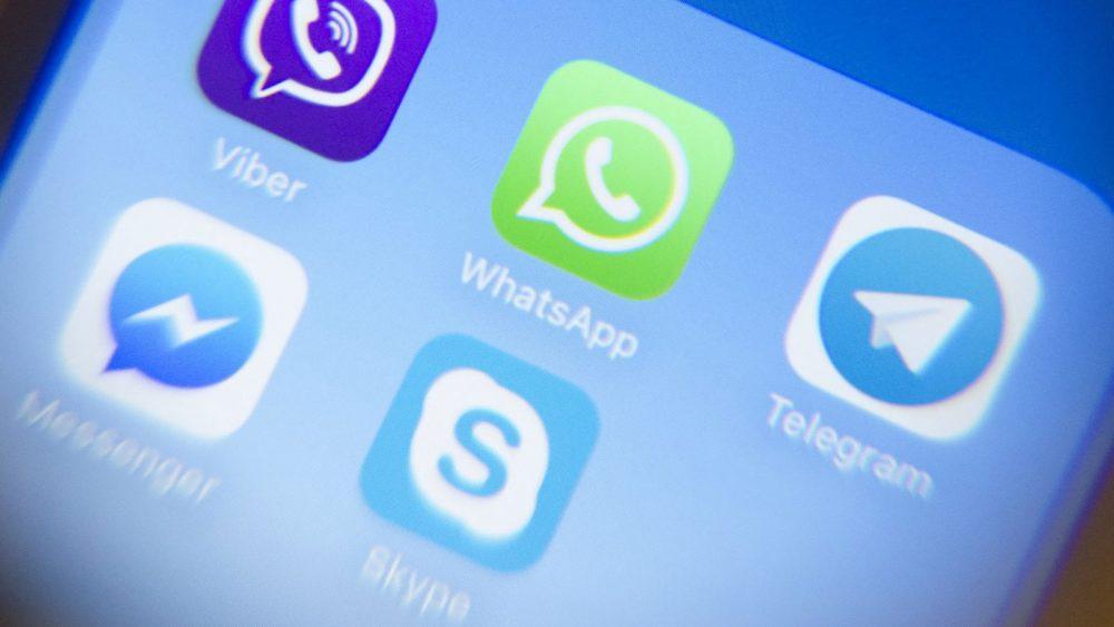WhatsApp und weitere Messenger auf Smartphone