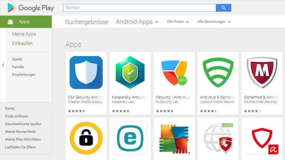 App-Berechtigungen kostenlose Apps