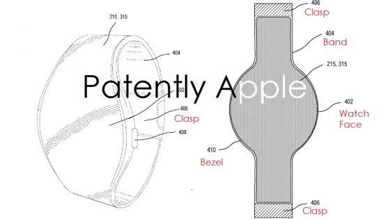 Skizzen der neuen Apple Smart Watch