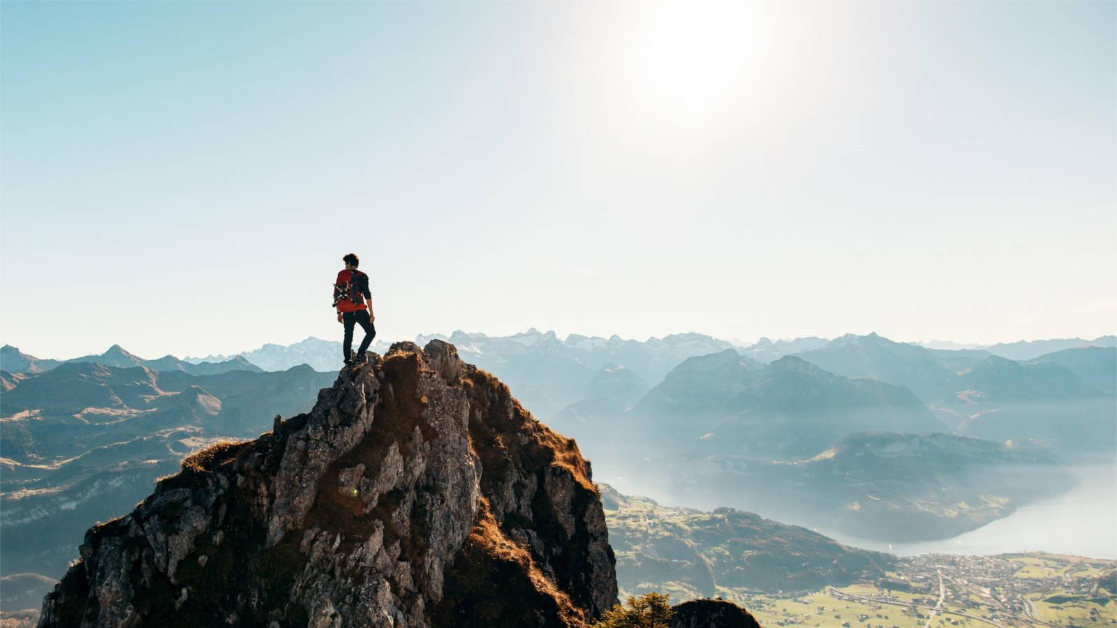 Reisefoto Bergpanorama