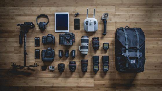 Reisefotografie gesamte Ausrüstung