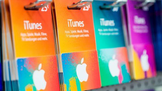 iTunes Gutscheinkarten