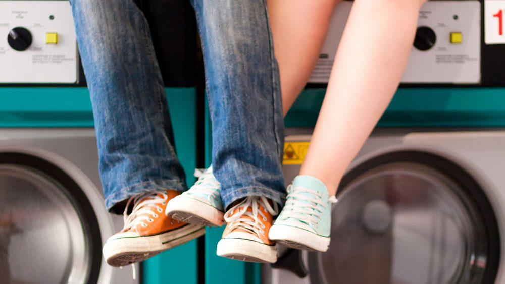 Dürfen Schuhe in die Waschmaschine?
