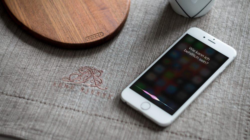 Siri auf dem iPhone