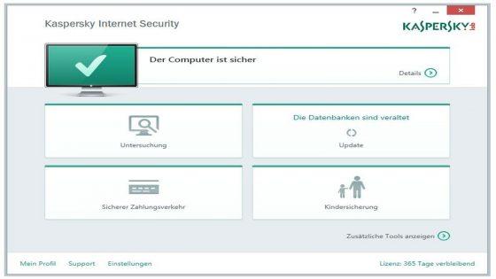 Virenschutz Windows 10 Kaspersky