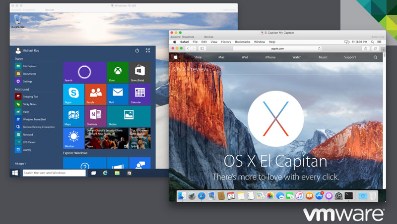 Mit einem Virtualisierungsprogramm Windows und macOS gleichzeitig nutzen
