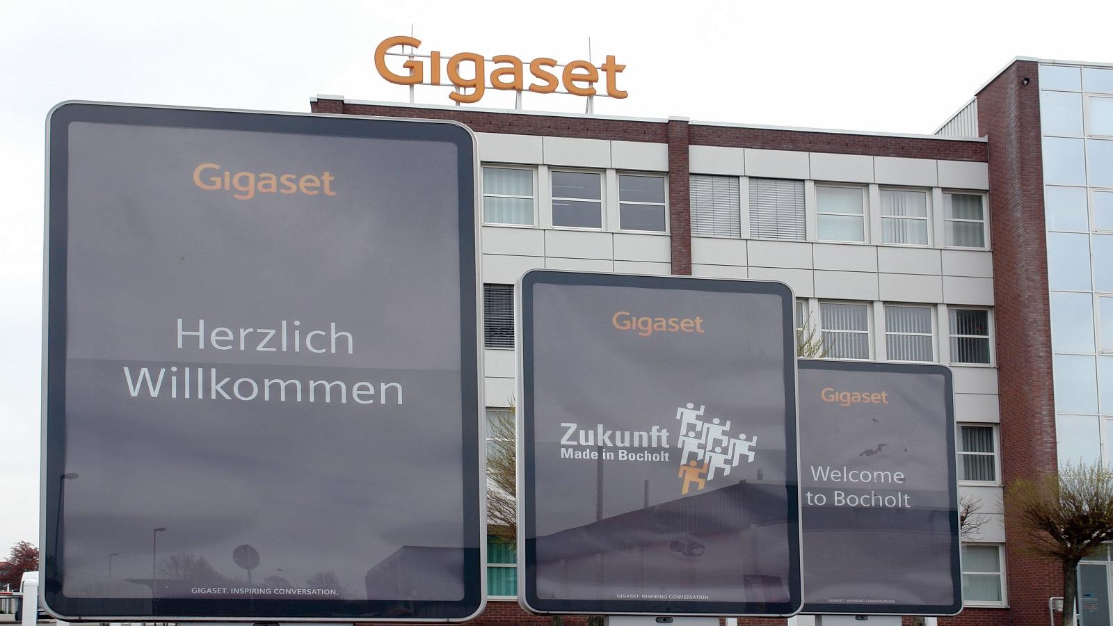 Die Firmenzentrale von Gigaset in Bocholt