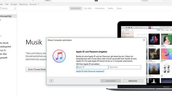 PC und Mac in iTunes autorisieren: So einfach geht es | UPDATED