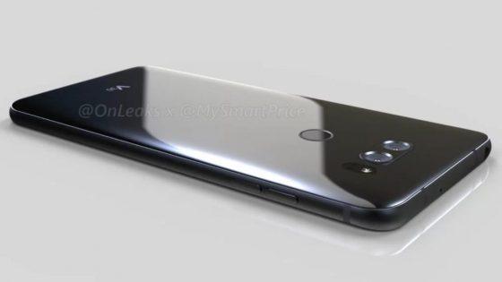 LG V30 Renderbild