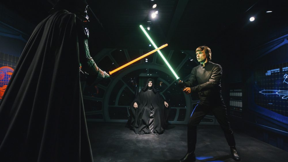 Star-Wars-Szene Madame Tussauds' London