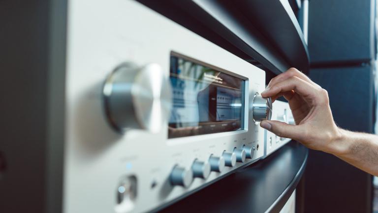 Multiroom-System mit analger Stereoanlage