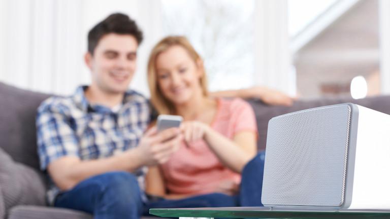 WLAN-Lautsprecher mit Smartphone ansteuern