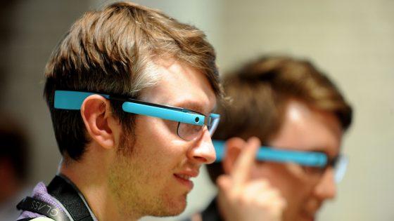 Die Datenbrille Google Glass