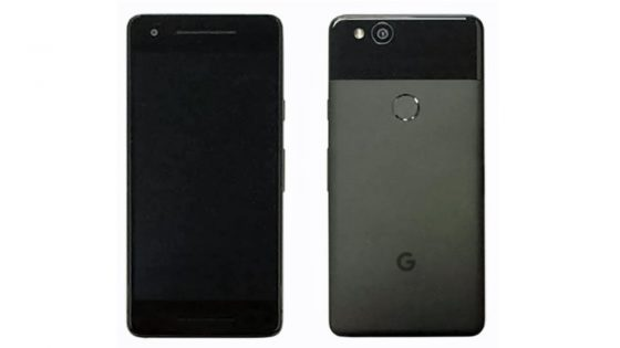 So könnte das Google-Smartphone Pixel 2 aussehen.